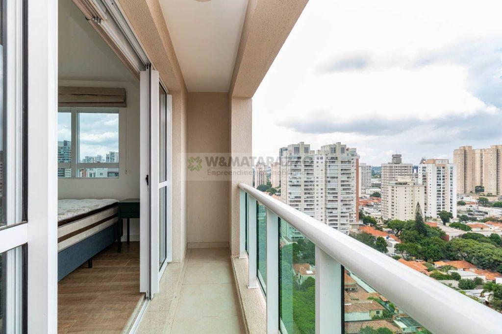 Apartamento Brooklin Paulista 1 dormitorios 1 banheiros 1 vagas na garagem