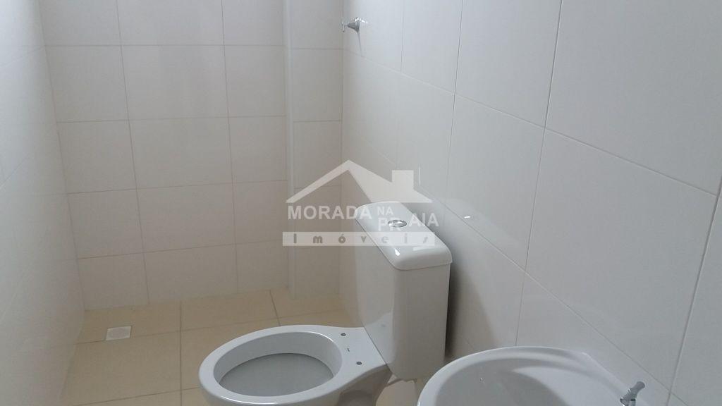 Wc do apartamento com 2 dormitórios em Cidade Ocian - Praia Grande