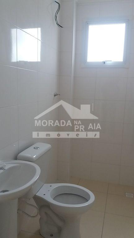 Suíte do apartamento com 2 dormitórios em Cidade Ocian - Praia Grande