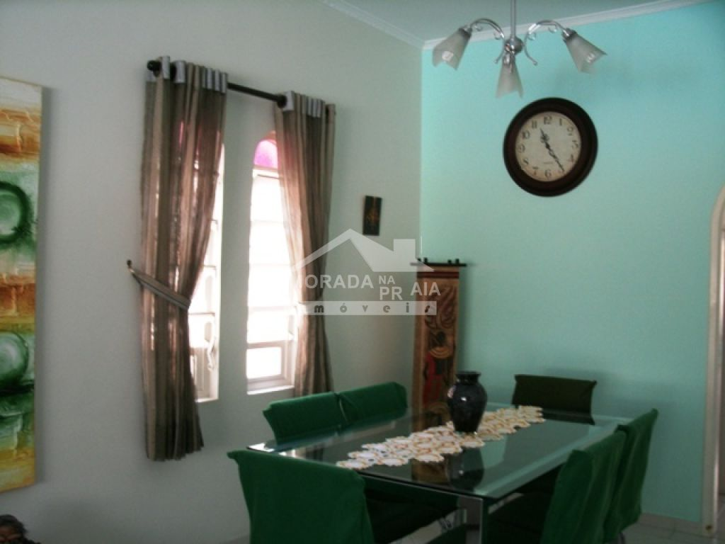 Sala ang 03 do casa isolada com 3 dormitórios em Canto do Forte - Praia Grande