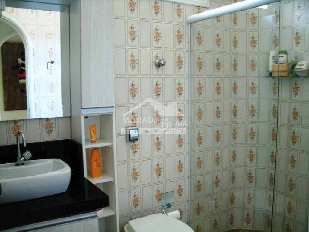 WC social do casa isolada com 3 dormitórios em Canto do Forte - Praia Grande