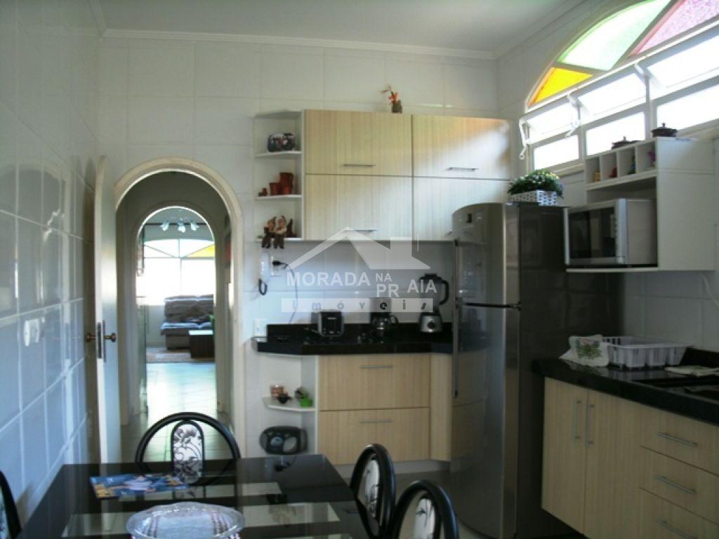 Cozinha ang 02 do casa isolada com 3 dormitórios em Canto do Forte - Praia Grande