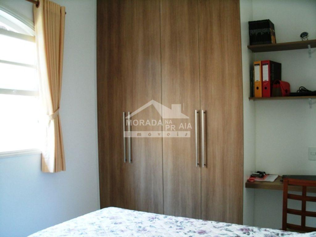 Dormitório 02 do casa isolada com 3 dormitórios em Canto do Forte - Praia Grande