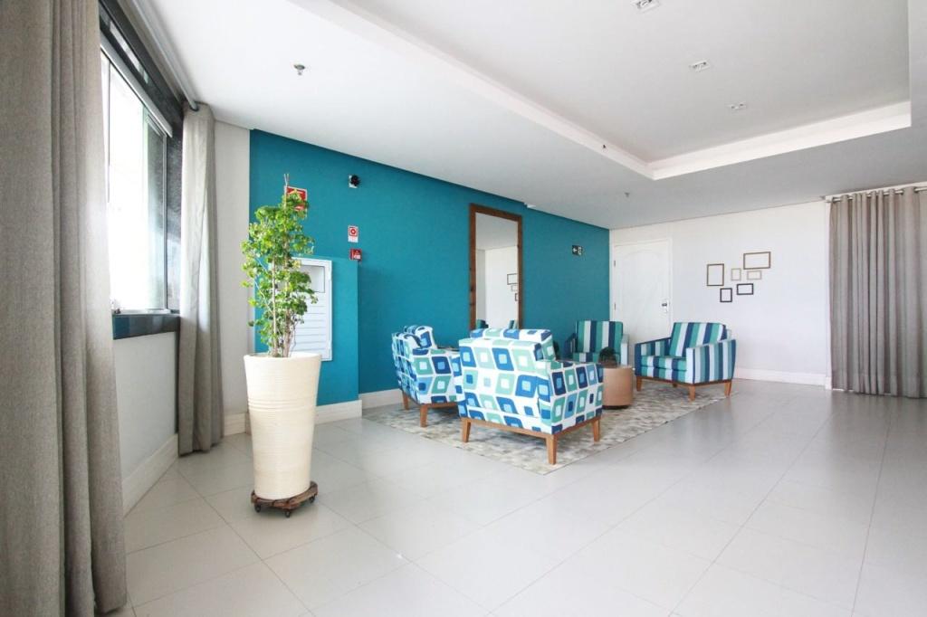 Hall de Entrada do apartamento com 2 dormitórios em Vila Mirim - Praia Grande