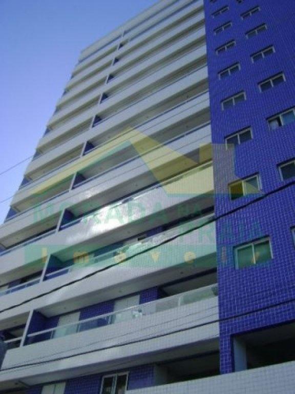 Fachada do apartamento com 2 dormitórios em Vila Mirim - Praia Grande