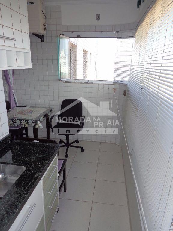Terraço gourmet ang 03 do apartamento com 1 dormitórios em Vila Mirim - Praia Grande