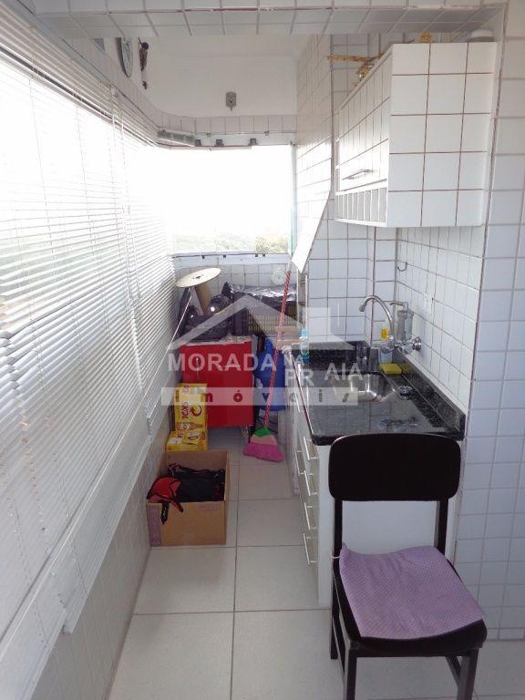 Terraço gourmet ang 02 do apartamento com 1 dormitórios em Vila Mirim - Praia Grande