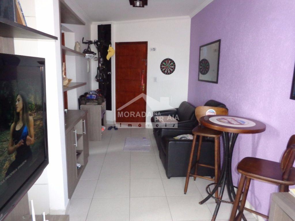 Sala ang 02 do apartamento com 1 dormitórios em Vila Mirim - Praia Grande