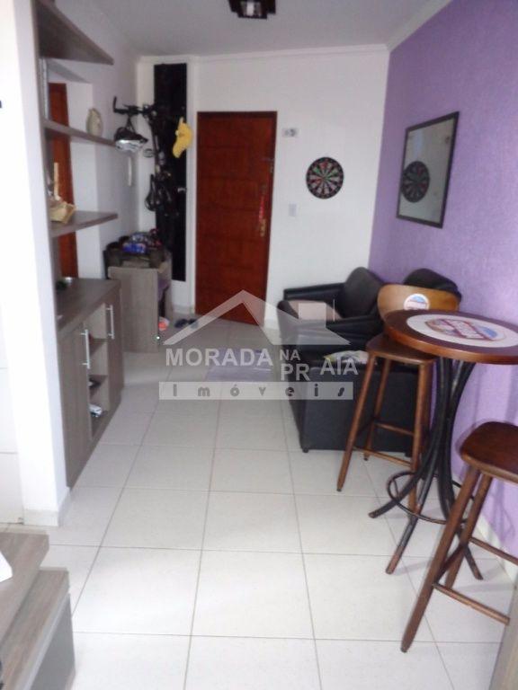 Sala ang 03 do apartamento com 1 dormitórios em Vila Mirim - Praia Grande