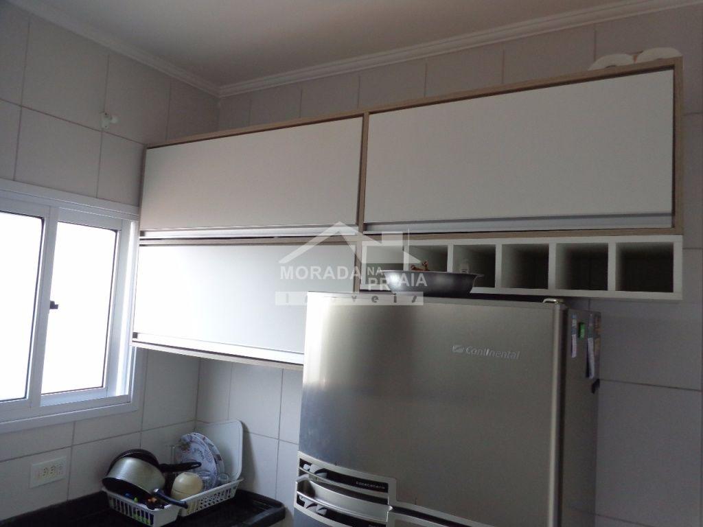 Cozinha ang 03 do apartamento com 1 dormitórios em Vila Mirim - Praia Grande