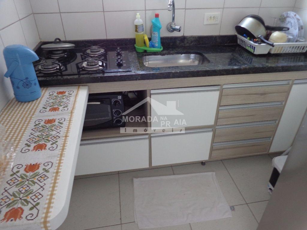 Cozinha ang 02 do apartamento com 1 dormitórios em Vila Mirim - Praia Grande