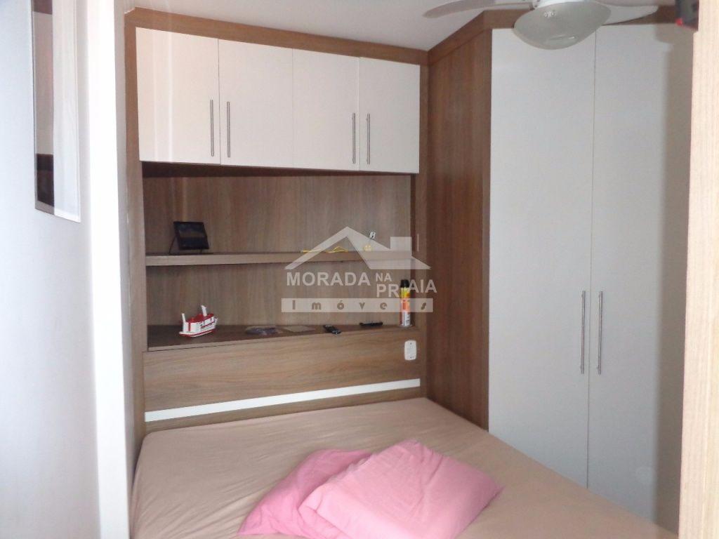 Dormitório ang 03 do apartamento com 1 dormitórios em Vila Mirim - Praia Grande