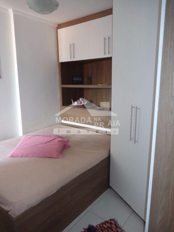 Dormitório do apartamento com 1 dormitórios em Vila Mirim - Praia Grande