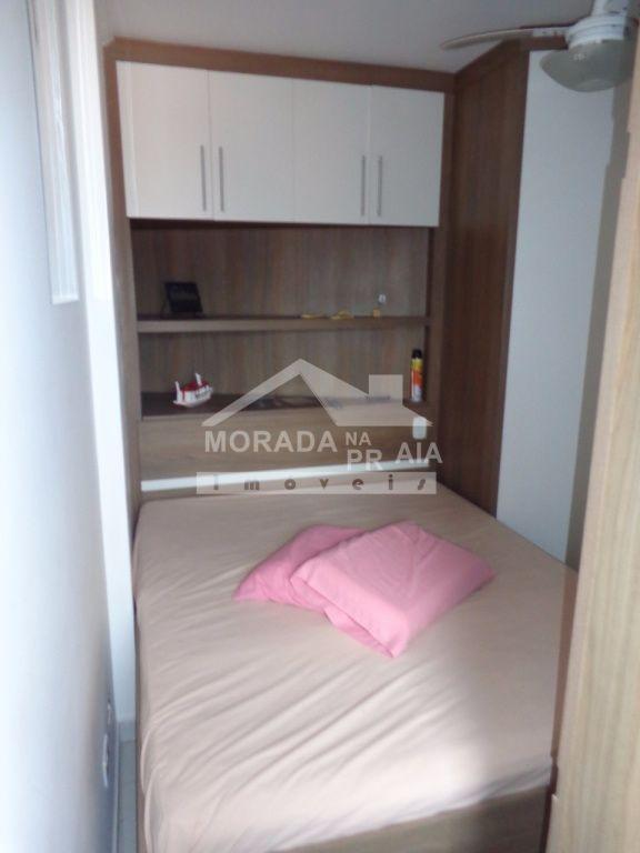 Dormitório ang 02 do apartamento com 1 dormitórios em Vila Mirim - Praia Grande