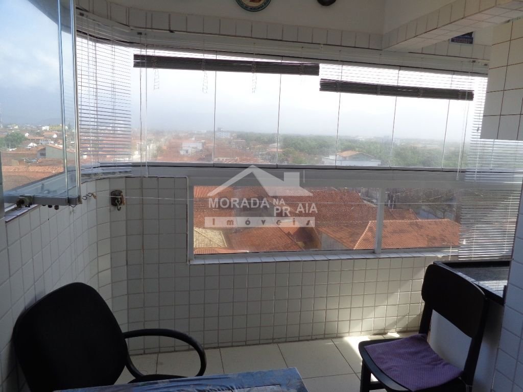 Terraço gourmet ang 04 do apartamento com 1 dormitórios em Vila Mirim - Praia Grande