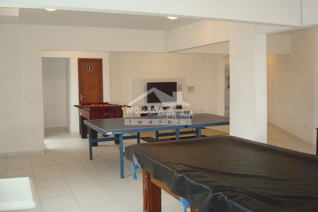 Salão de jogos do apartamento com 1 dormitórios em Vila Mirim - Praia Grande