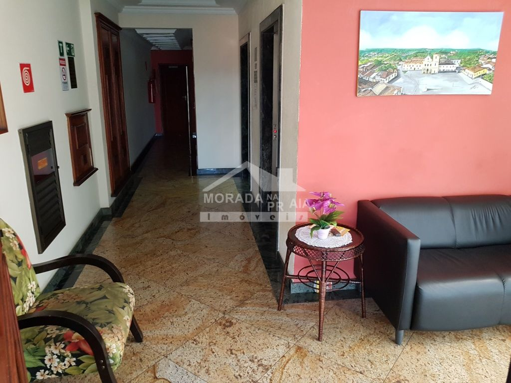 Hall de entrada do kitinet com 1 dormitórios em Vila Tupi - Praia Grande