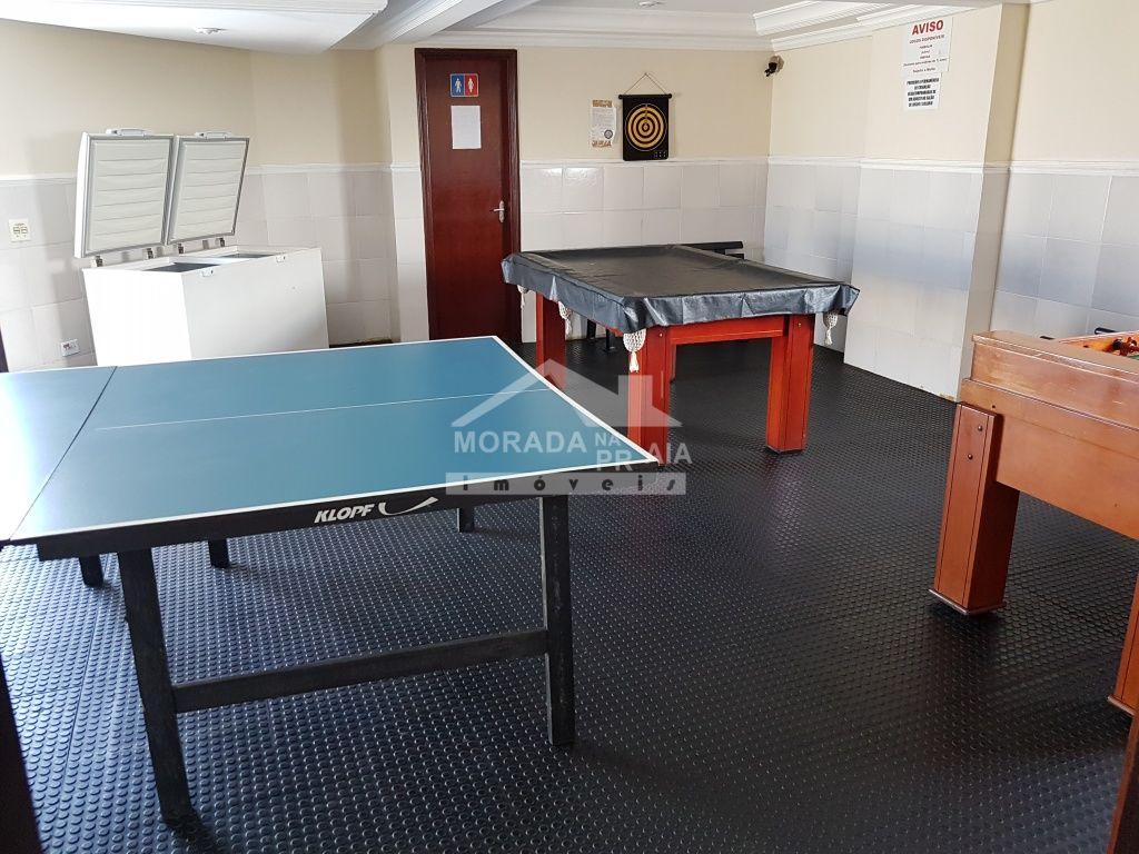 Salão de jogos do kitinet com 1 dormitórios em Vila Tupi - Praia Grande