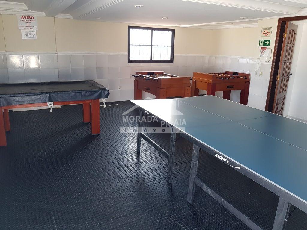 Salão de jogos ang 02 do kitinet com 1 dormitórios em Vila Tupi - Praia Grande