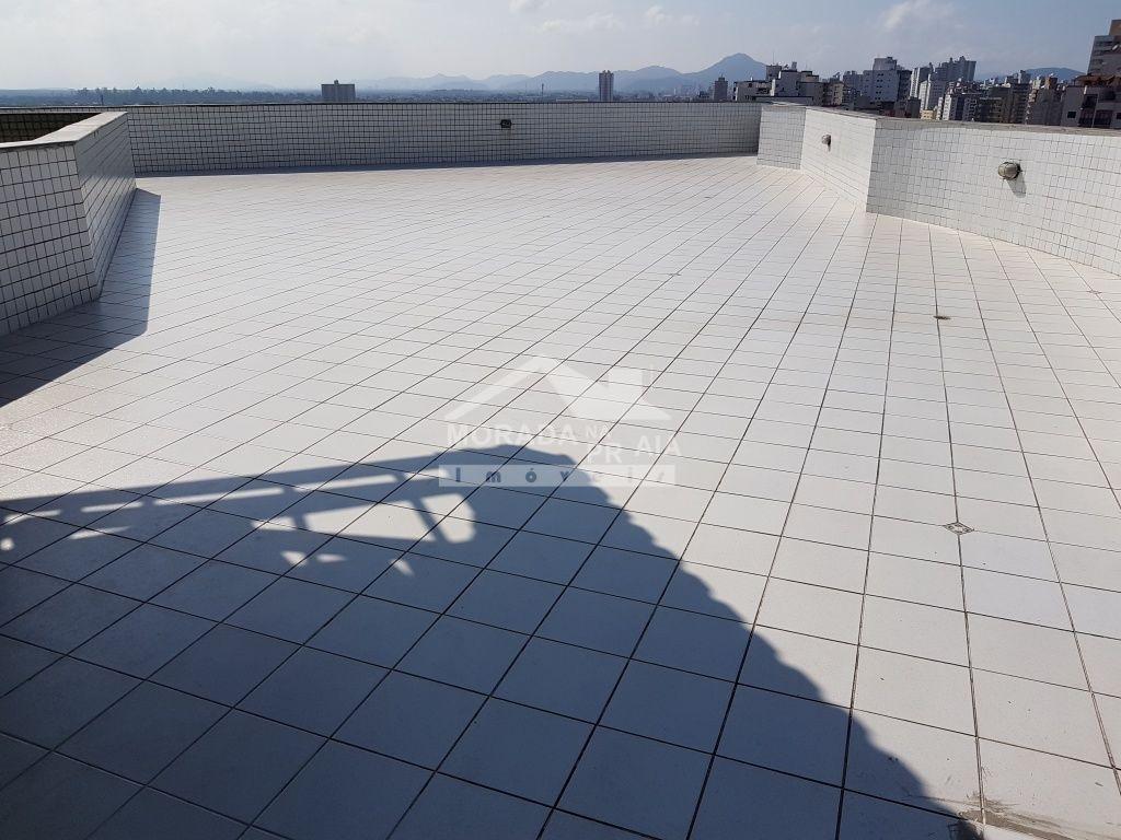 Solarium do kitinet com 1 dormitórios em Vila Tupi - Praia Grande