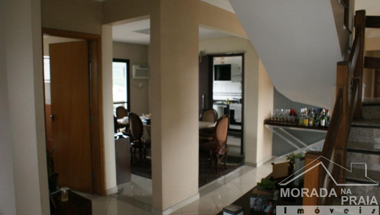 Sala ang 03 do cobertura com 3 dormitórios em Canto do Forte - Praia Grande