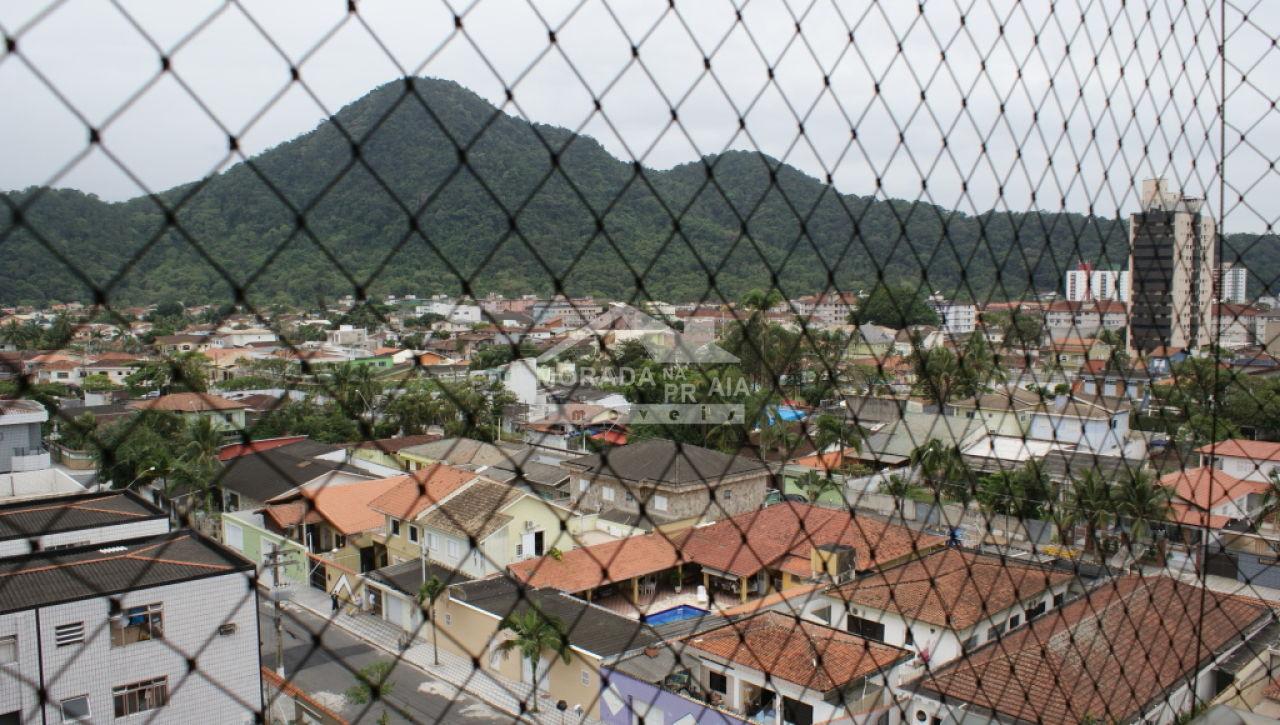 Vista do cobertura com 3 dormitórios em Canto do Forte - Praia Grande