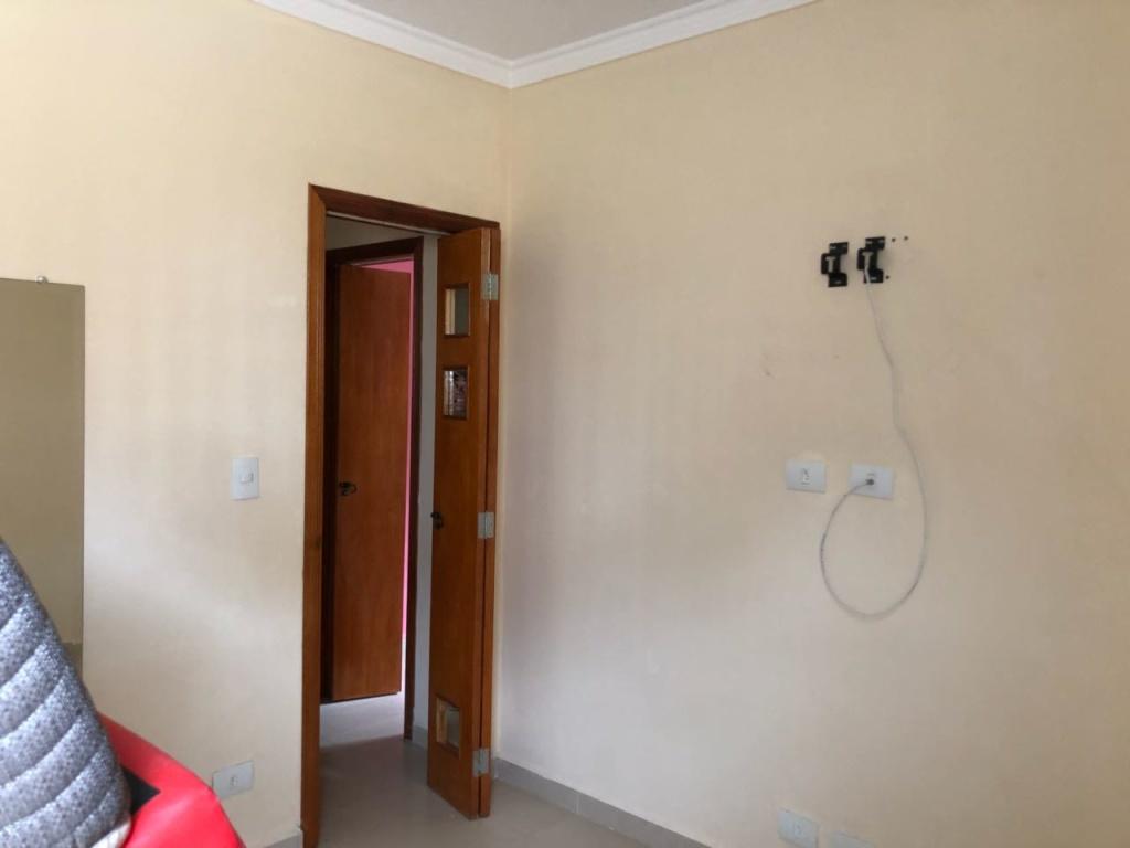 Dormitório do apartamento com 2 dormitórios em Boqueirão - Praia Grande