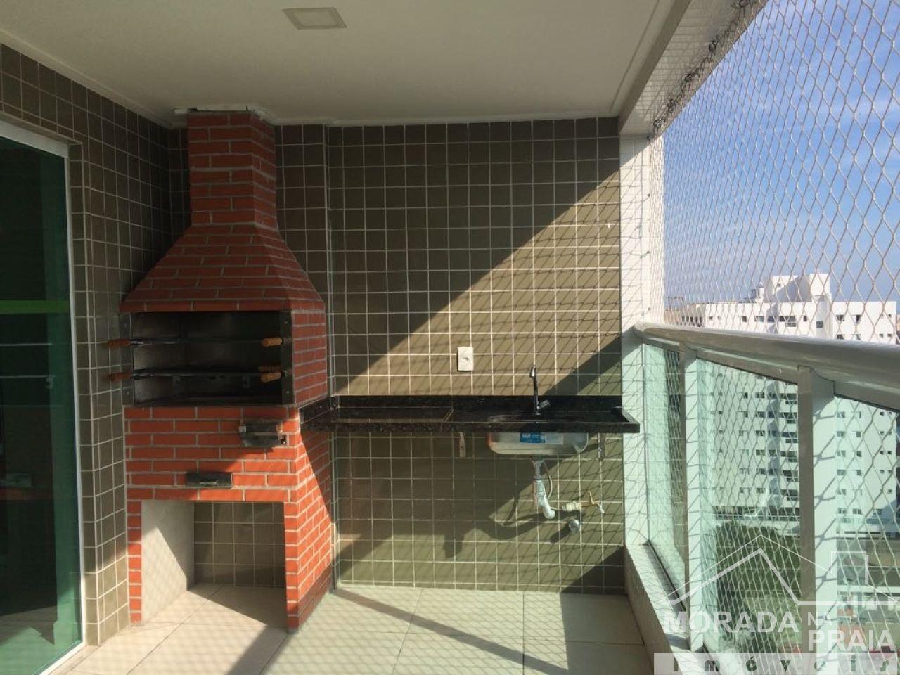 Área de lazer cobertura do apartamento com 2 dormitórios em Canto do Forte - Praia Grande