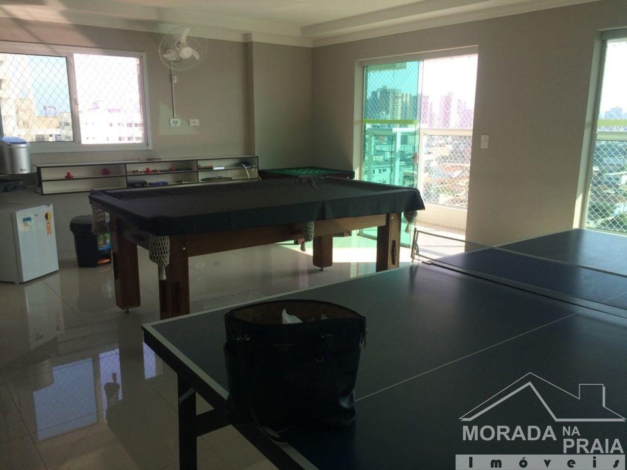Salão de Jogos do apartamento com 2 dormitórios em Canto do Forte - Praia Grande