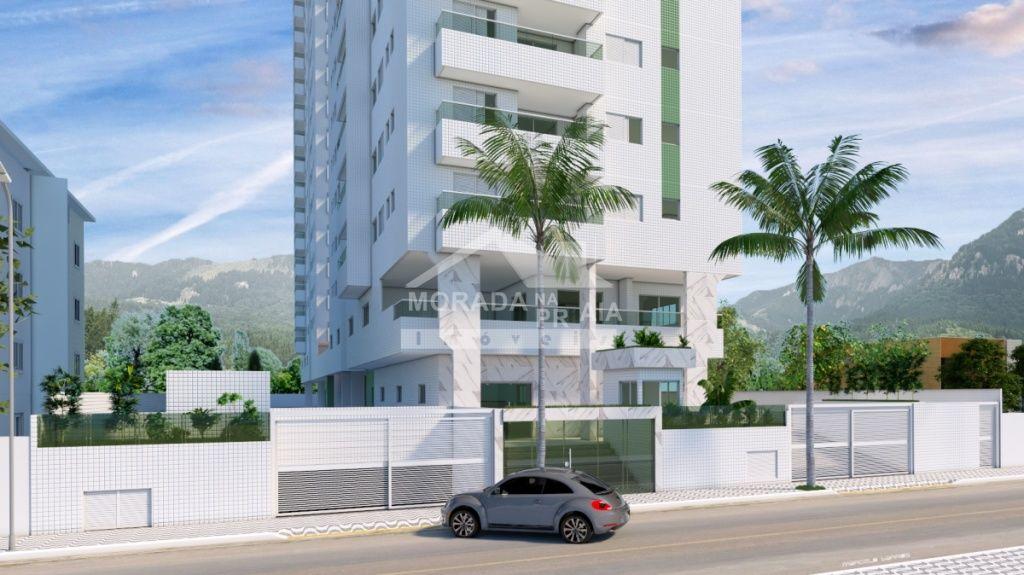 do apartamento com 2 dormitórios em Cidade Ocian - Praia Grande