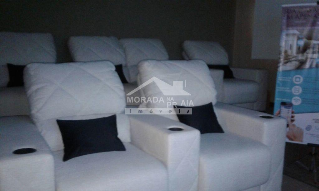 Cinema do apartamento com 4 dormitórios em Canto do Forte - Praia Grande