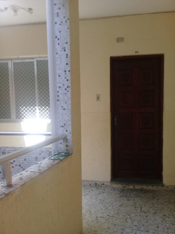Entrada do apartamento do apartamento com 2 dormitórios em Boqueirão - Praia Grande