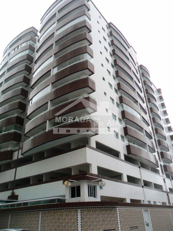 Fachada ang 02 do apartamento com 1 dormitórios em Cidade Ocian - Praia Grande