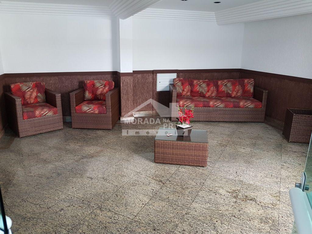 Hall de entrada do apartamento com 1 dormitórios em Cidade Ocian - Praia Grande