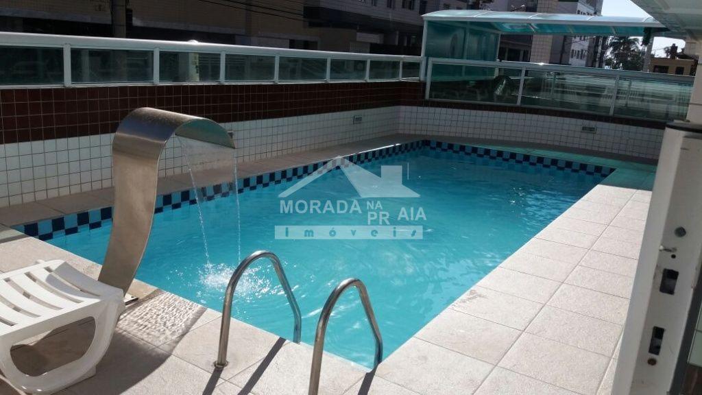 Piscina ang 02 do apartamento com 1 dormitórios em Cidade Ocian - Praia Grande
