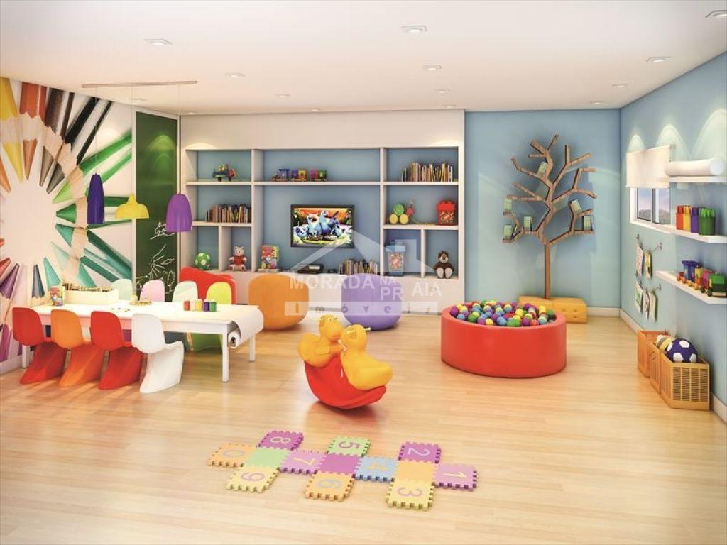 Brinquedoteca do apartamento com 2 dormitórios em Vila Caiçara - Praia Grande