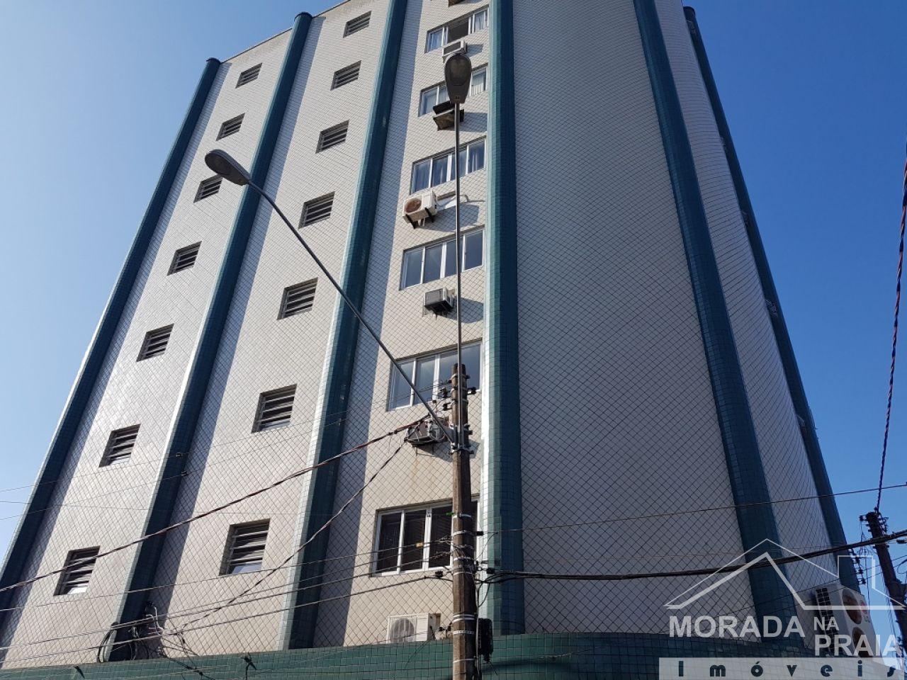 Fachada ang 02 do sala com  dormitórios em Boqueirão - Praia Grande