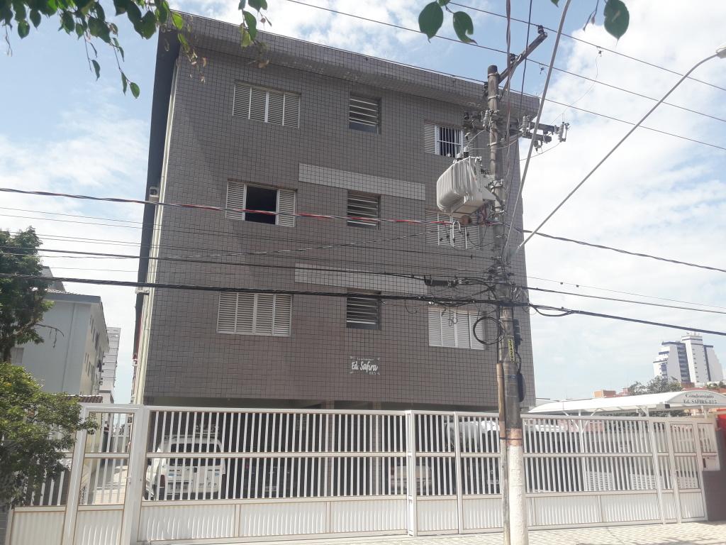 Fachada do kitinet com  dormitórios em Boqueirão - Praia Grande