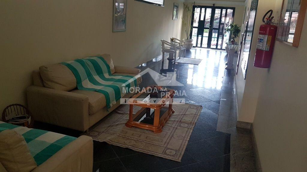 Hall de entrada ang 02 do apartamento com 2 dormitórios em Campo da Aviação - Praia Grande