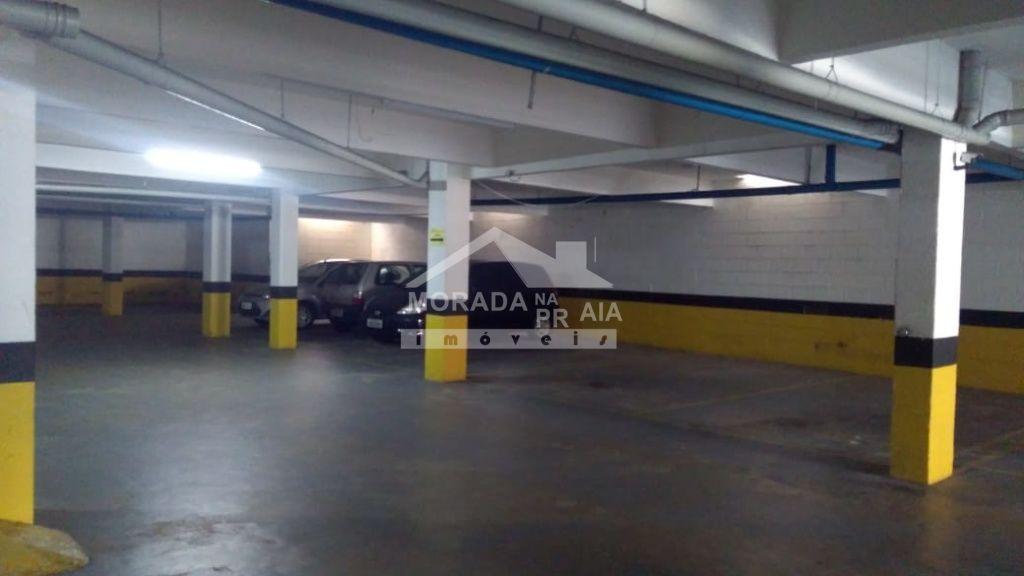Garagem do apartamento com 2 dormitórios em Campo da Aviação - Praia Grande