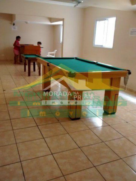 Salão de Jogos do apartamento com 1 dormitórios em Campo da Aviação - Praia Grande