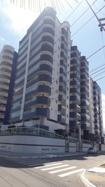 Fachada do apartamento com 2 dormitórios em Balneário Maracanã - Praia Grande