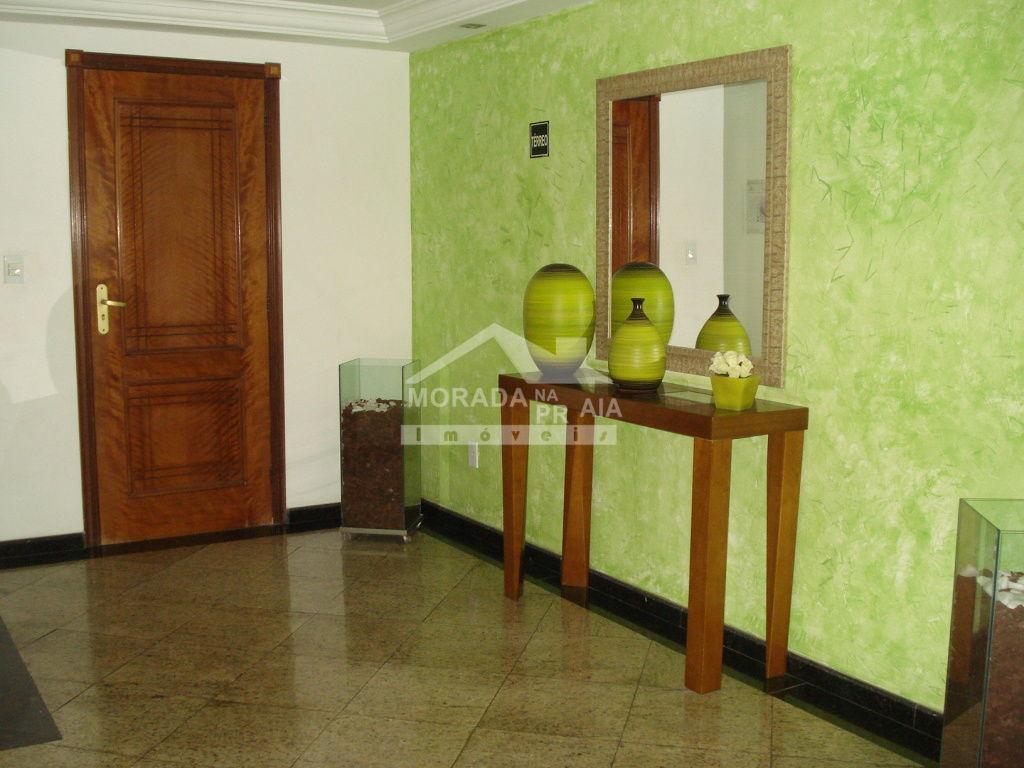 Hall de entrada do apartamento com 3 dormitórios em Campo da Aviação - Praia Grande