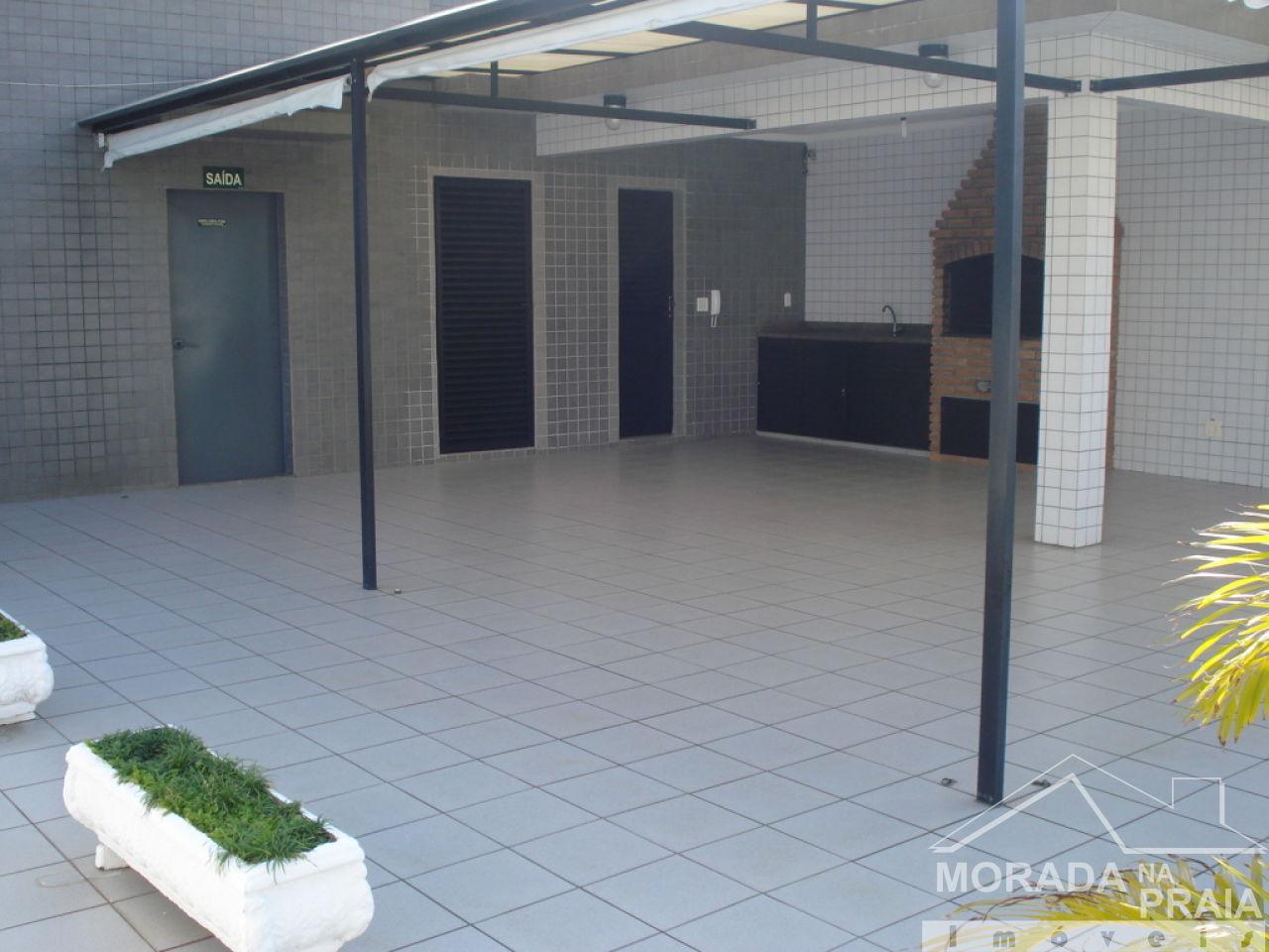 Espaço gourmet do apartamento com 3 dormitórios em Campo da Aviação - Praia Grande