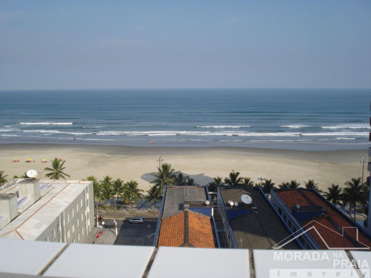 Vista do solarium do apartamento com 3 dormitórios em Campo da Aviação - Praia Grande