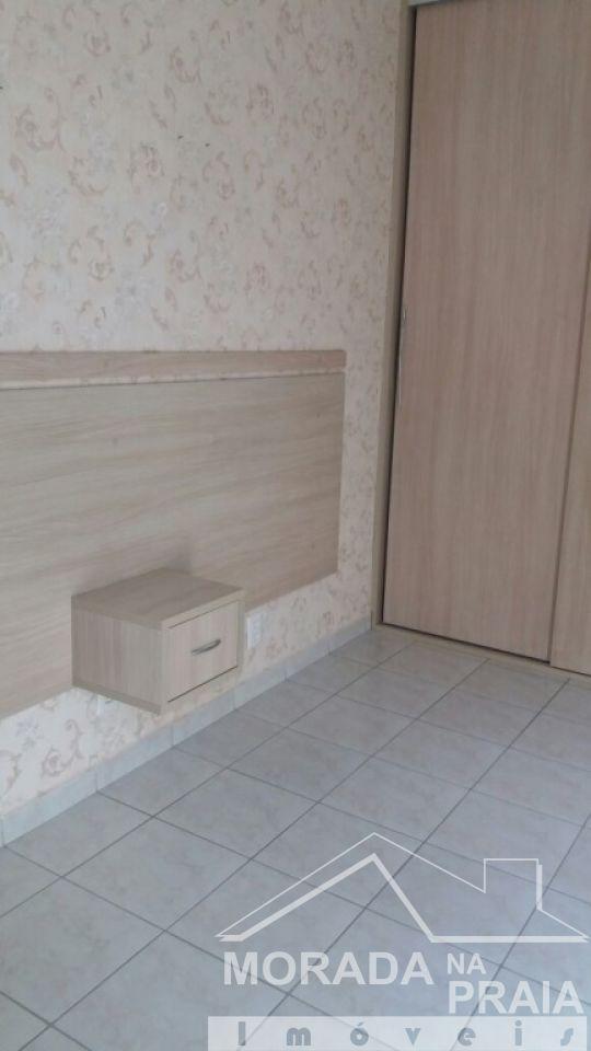 Suíte 01 ang 02 do apartamento com 3 dormitórios em Campo da Aviação - Praia Grande
