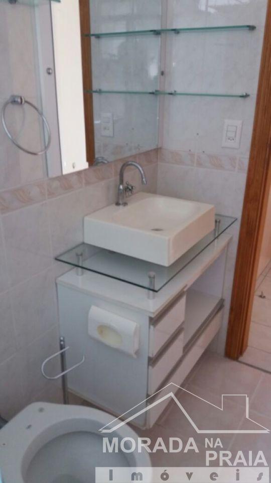 WC suíte 01 ang 02 do apartamento com 3 dormitórios em Campo da Aviação - Praia Grande