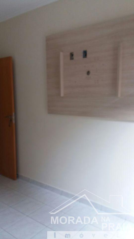 Dormitório 02 ang 03 do apartamento com 3 dormitórios em Campo da Aviação - Praia Grande