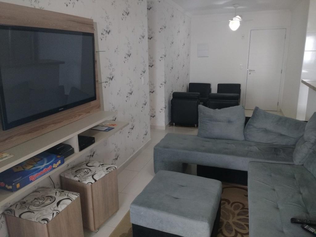 Sala ang 03 do apartamento com 1 dormitórios em Campo da Aviação - Praia Grande