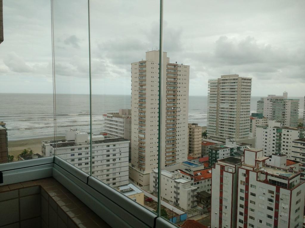 Vista do apartamento com 1 dormitórios em Campo da Aviação - Praia Grande